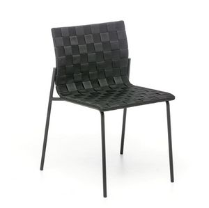 Zebra, Steel chair with polypropylene weaving