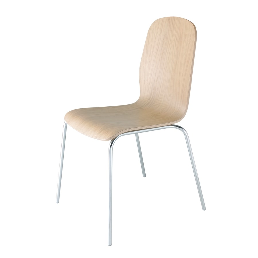 Milù, Chair in wood and metal