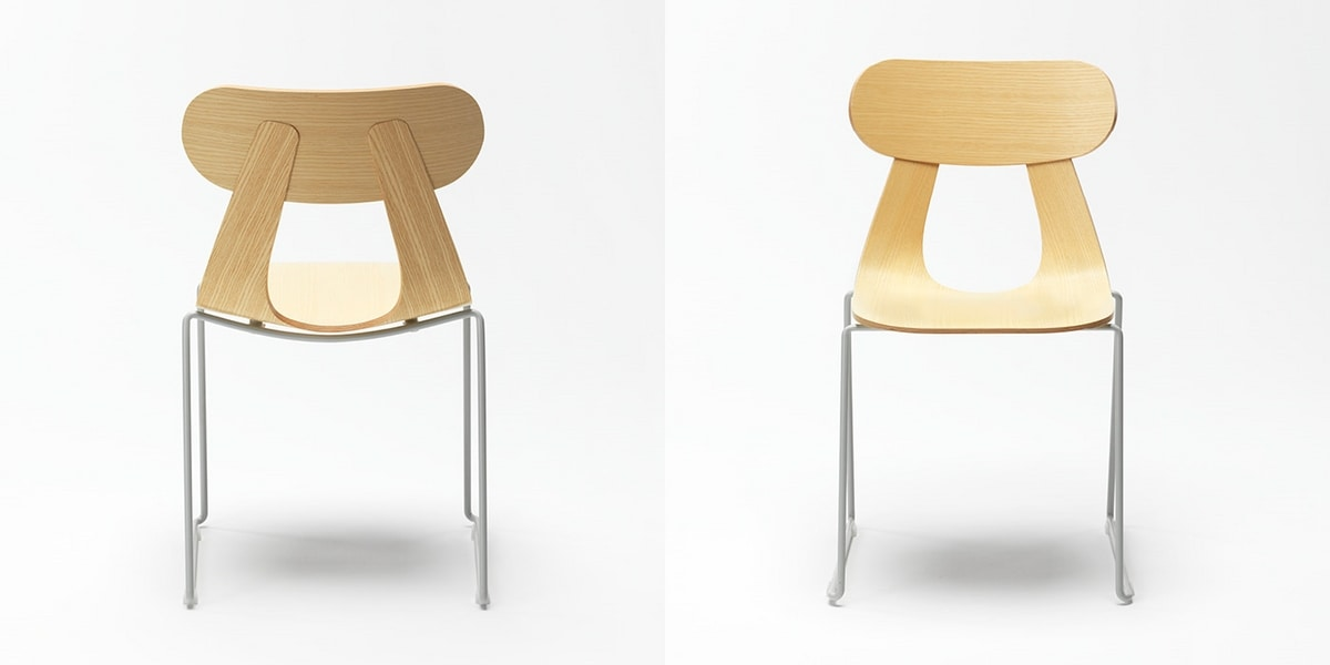 Rapa Metal, Chair with sled base