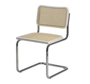 Vienna, Office chair without armrests, backrest in mesh