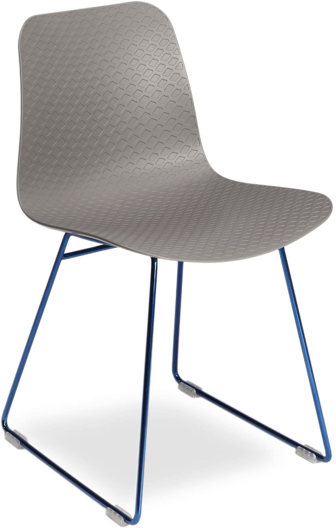 Ordinaire Dama, Metal Chair With Polypropylene Shell