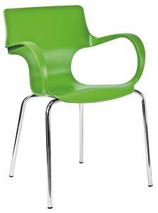 Gimmy, Polypropylene monocoque chair