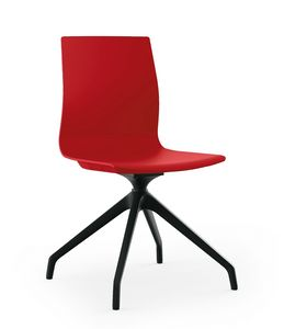 Q3, Chair with spider base in Nylon