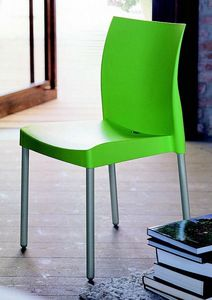 9306 Ice, Stackable chair for bars and ice cream parlors