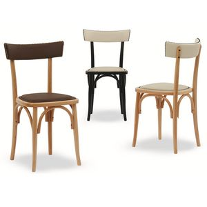Milano Borchie, Wooden chair with decorative studs