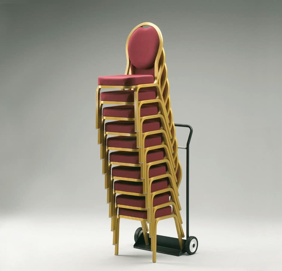 CTH/1, Painted trolley for conference and meeting chairs