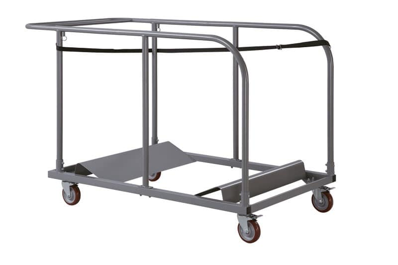 Resol.C - Carro 1, Metal trolley for stackable tables, for restaurants