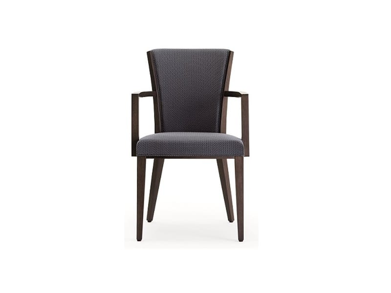 Ada-P, Chair with armrests, padded