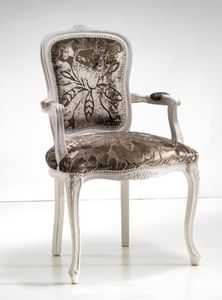 Art. 19905, Classic style chair with armrests
