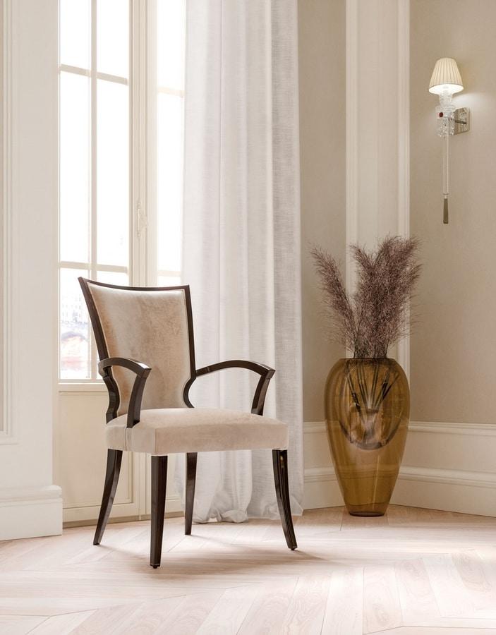 ART. 3439, Elegant head of the table chair