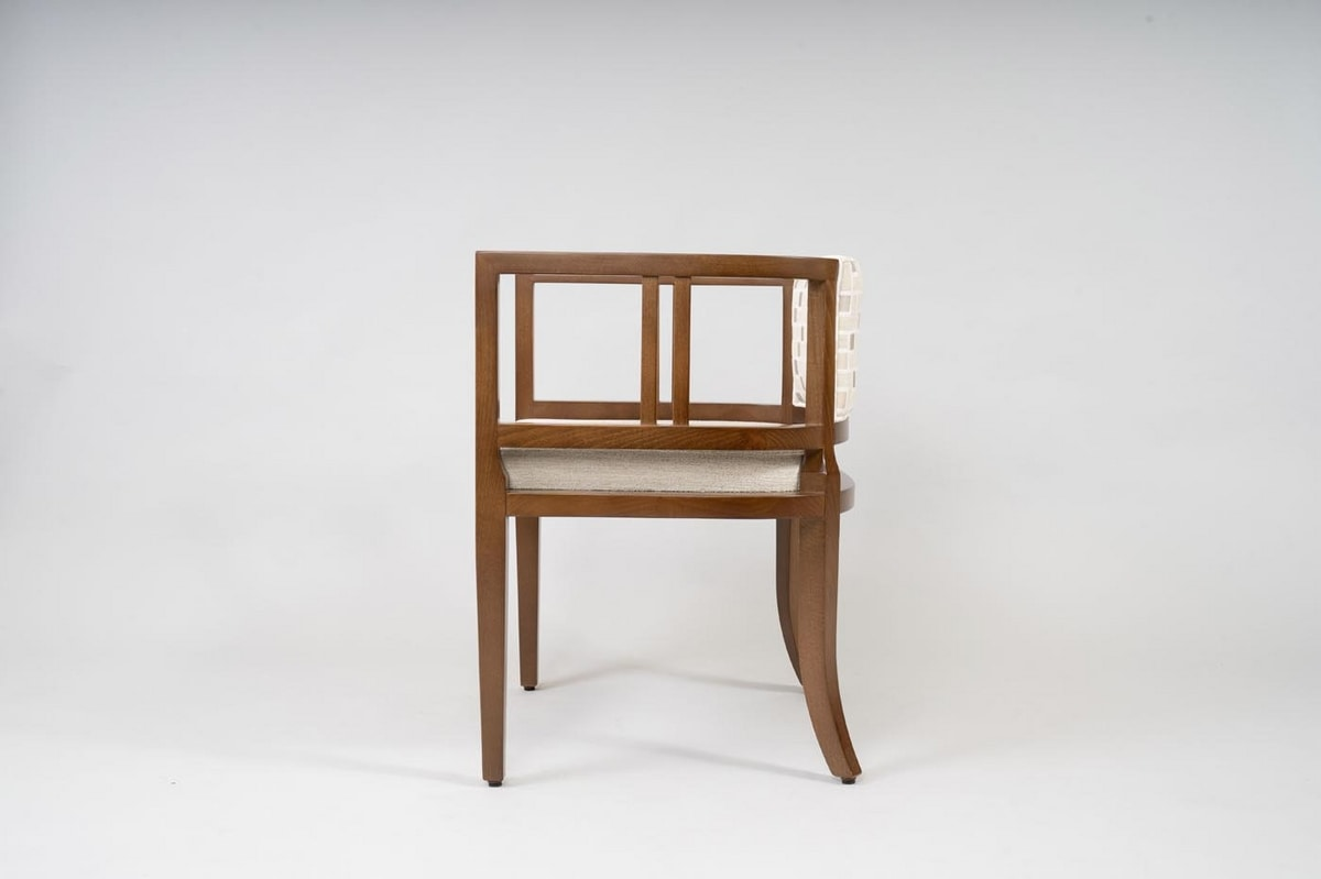 BS501A - Chair, Chair made with beech wood