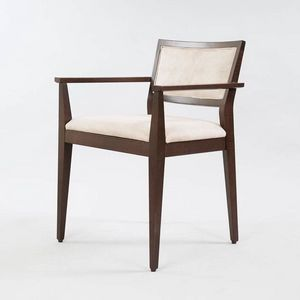 BS513A � Chair with armrests, Wooden chair with armrests