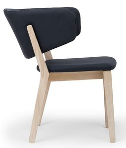 Carmen ARMS, Chair with armrests integrated in the backrest