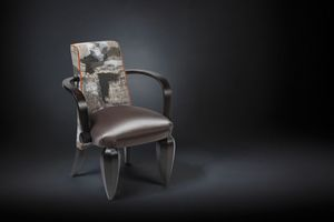Drummond, Wooden chair with armrests