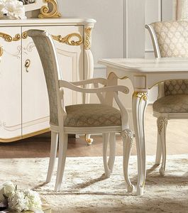 Fenice Art. 1611, Dining chair with armrests