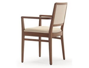Godiva-P, Chair with armrests, for restaurants and bars