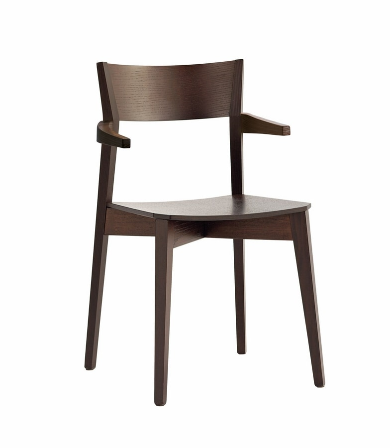 Miss P, Chair with essential lines