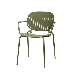 Si-Si, Metal chair with armrests