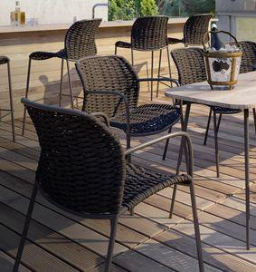 SLICK PL, Outdoor woven armchair