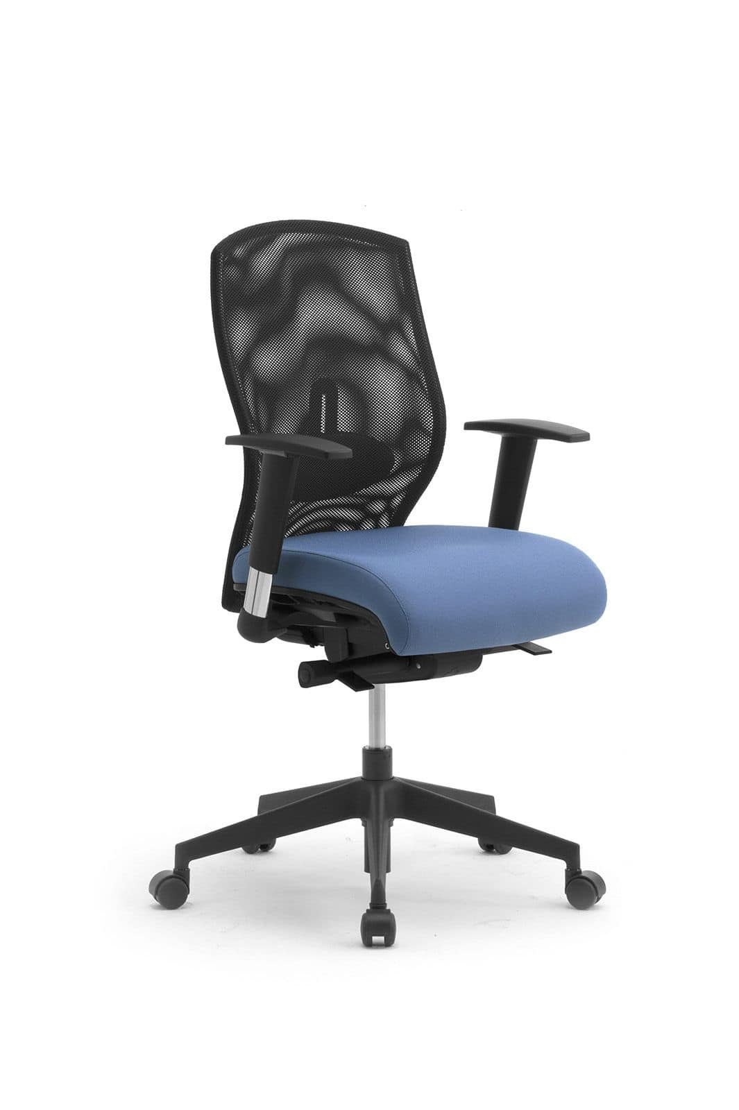 Egonomic task 53320, Office chair on wheels, backrest in mesh