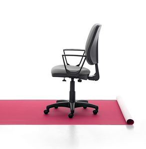 Eros 01 CP, Padded task chair, aluminum base, for office
