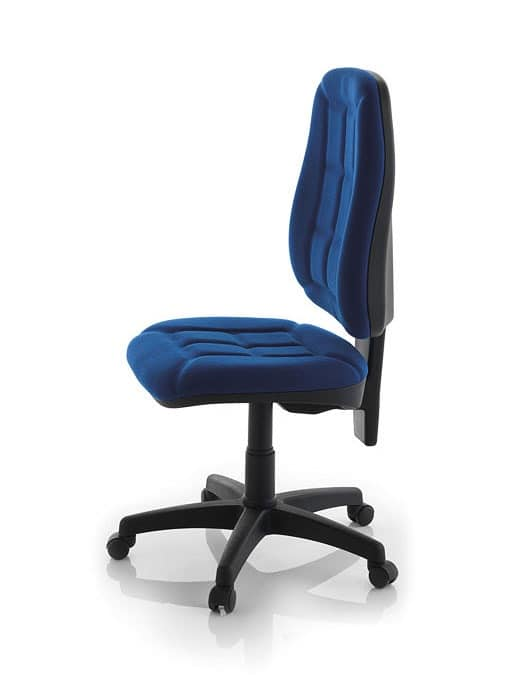 Robin Maxi SY, Simple chair for office, padded polypropylene