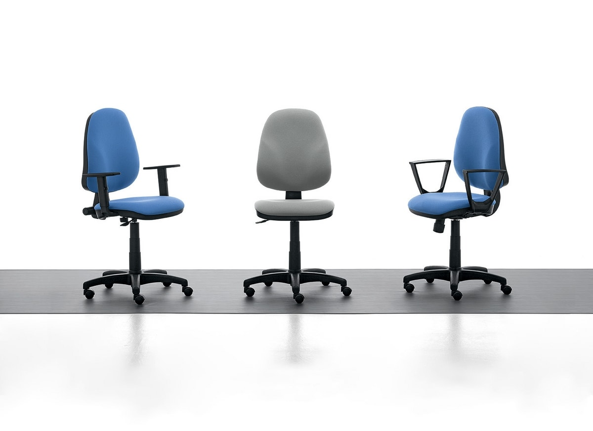 Tiger 01, Task chair with high back for office
