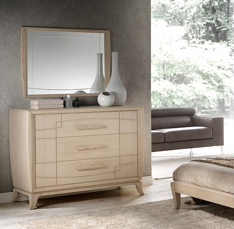 A 702/P, Dresser entirely of ash wood, for hotels