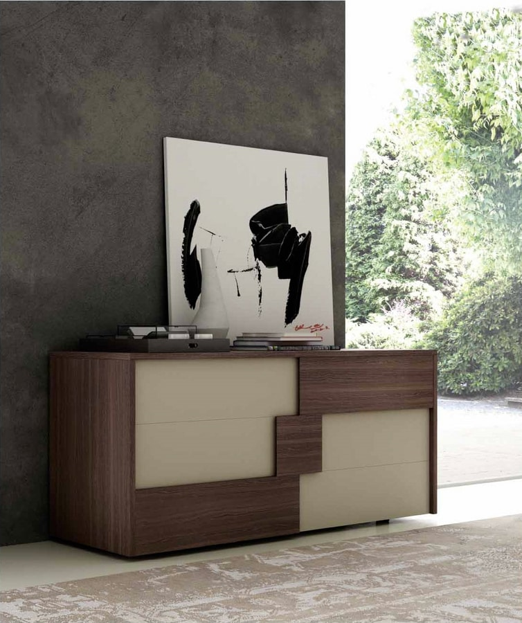 ALIANT chest of drawers, Chest of drawers with a sophisticated design
