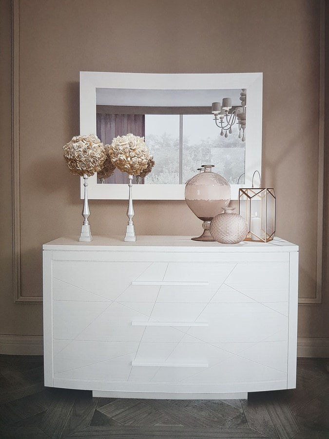 Alis, Chest of drawers with a contemporary design