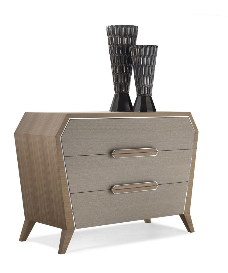 AN 742 C, Chest of drawers in canaletto walnut
