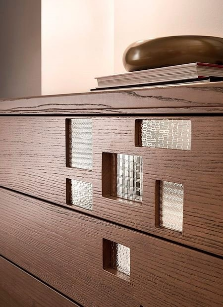 Break Up, Chest of drawers with decorative inserts