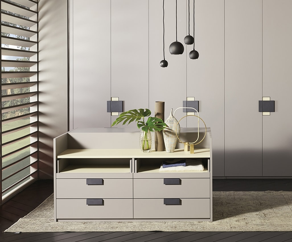 CHARME, Double-sided chest of drawers