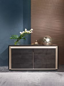 CO28 Galileo, Wooden dresser in Sycomoro and Pama