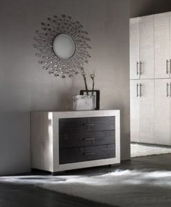 Dresser diamante, Dresser with 3 drawers in ethnic style