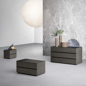 Forty Five chest of drawers, Chest of drawers with integrated lighting