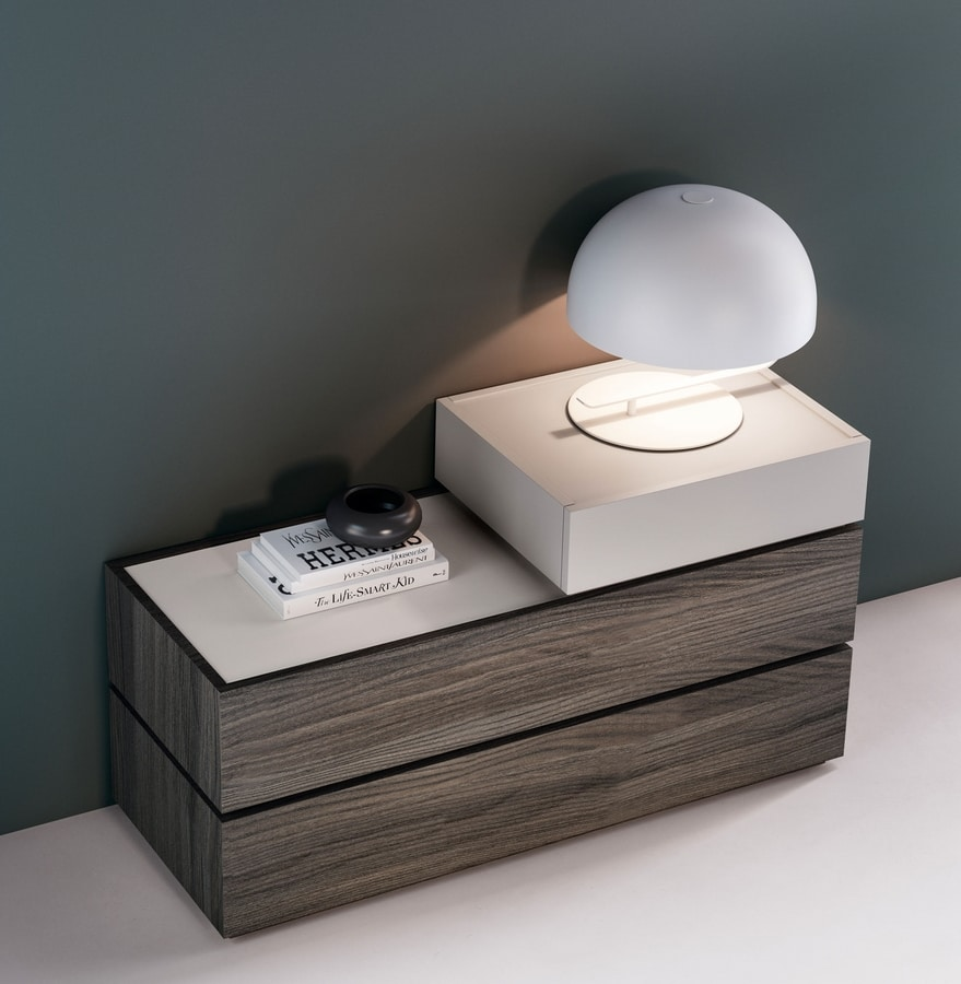 GALLIA chest of drawers, Chest of drawers with a modern design