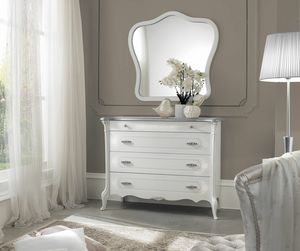 Giulietta Art. 3305 - 3405, Chest of drawers in lacquered wood