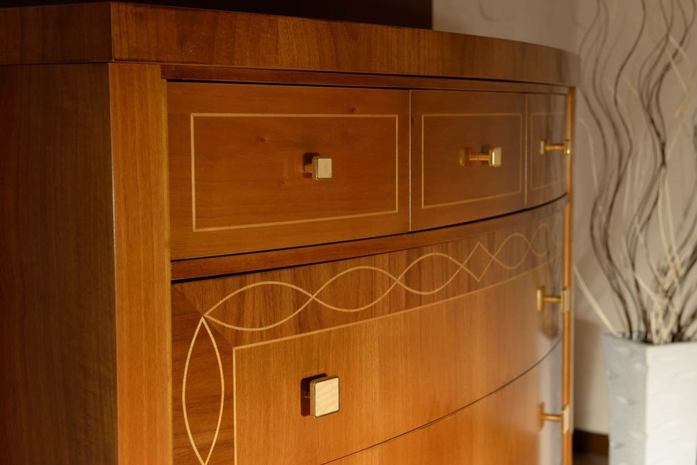 Harmony led chest of drawers, Dresser with drawers with LED light