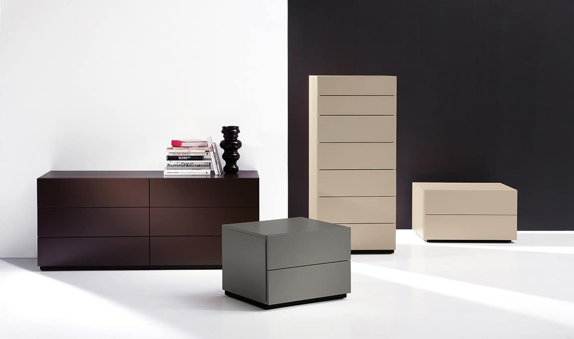 HARU chest of drawers, Chest of drawers with 6 drawers, in essential style