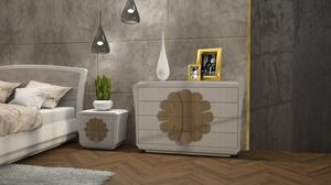 La Nuit chest of drawers, Chest of drawers with refined design
