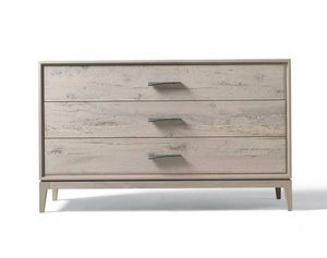 M-632, Chest of drawers in gray walnut finish