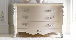 Melissa Art. 482, Chest of drawer with classical inspiration