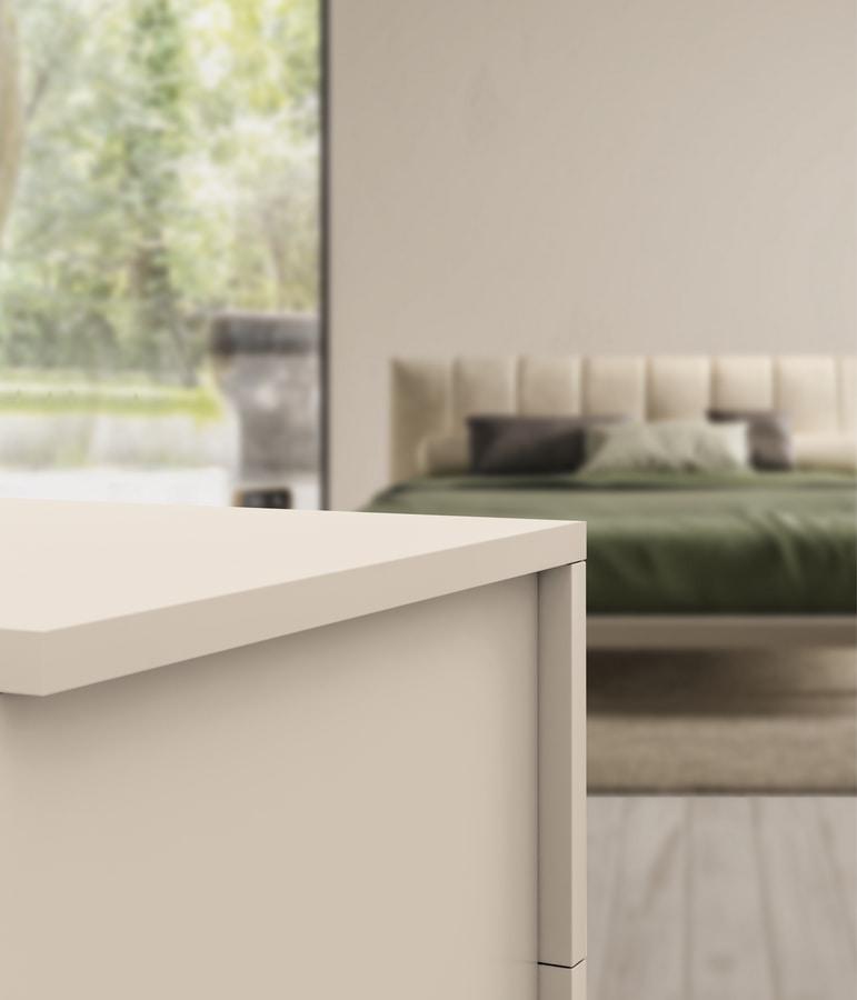 MONTECARLO cassettone, Chest of drawers, white finish