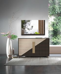 New Harmony Art. H0013, Dresser with a geometric design