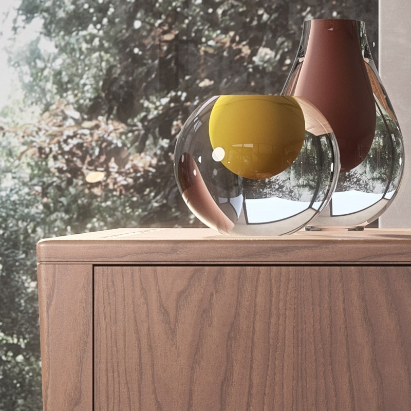 Nova NOVA1302T, Modern wooden chest of drawers