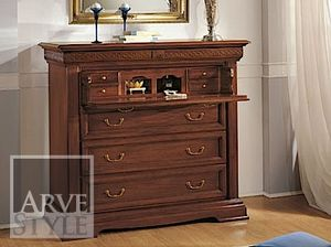 Palladio chest of drawers, Chest of drawers with flap door