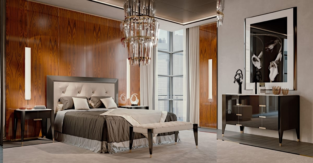 PARK AVENUE Dresser, Luxury dresser with Carrara marble