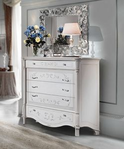 Prestige Art. 305, Chest of drawers in lacquered wood