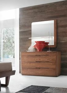 Tea Glam, Dresser with rounded shapes